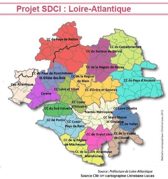 Projet SDIC Loire Atlantique 2016-2017